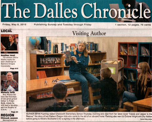 The Dalles Cronicle article